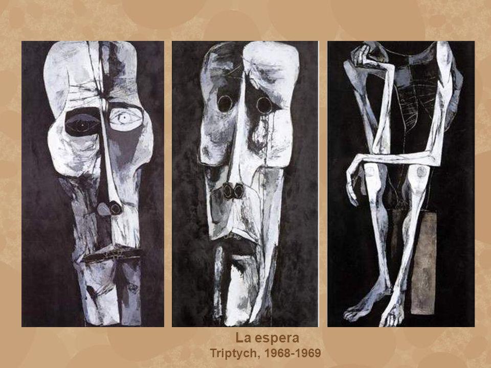 La espera Triptych, 1968-1969
