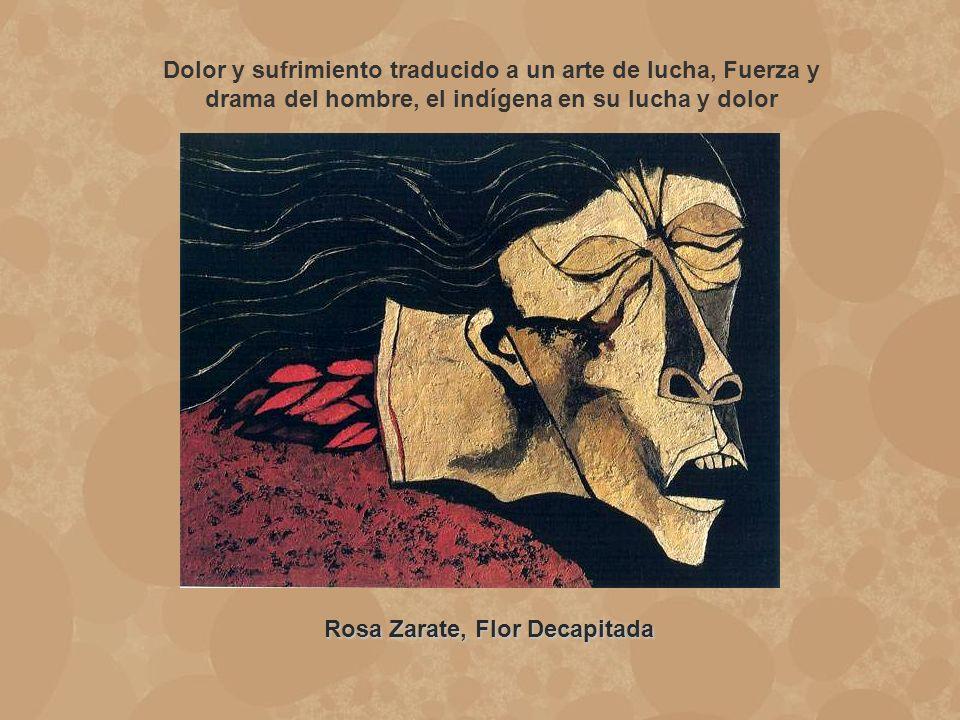 Rosa Zarate, Flor Decapitada