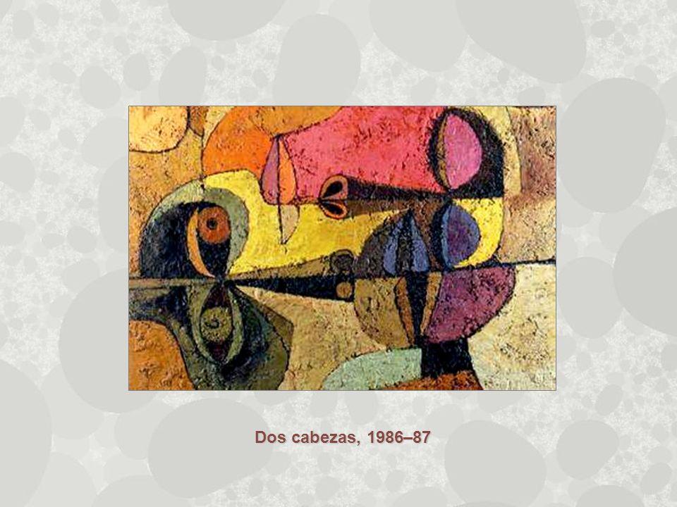 Dos cabezas, 1986–87