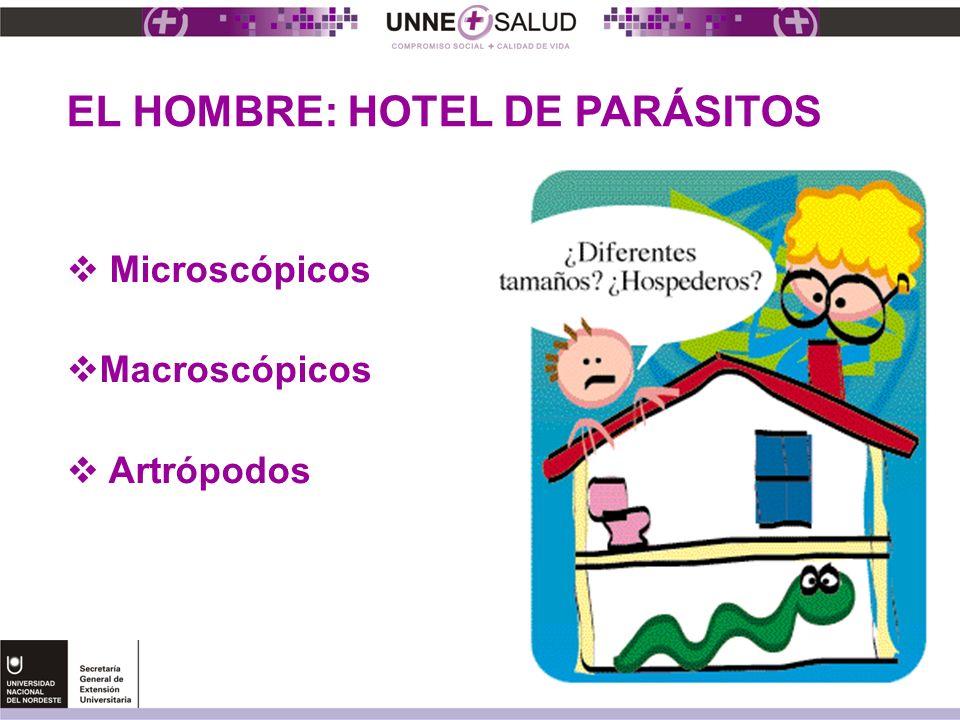 EL HOMBRE: HOTEL DE PARÁSITOS