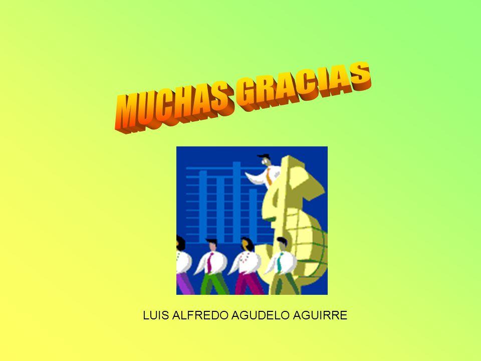 MUCHAS GRACIAS LUIS ALFREDO AGUDELO AGUIRRE