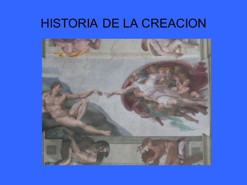 HISTORIA DE LA CREACION