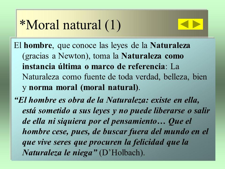 *Moral natural (1)