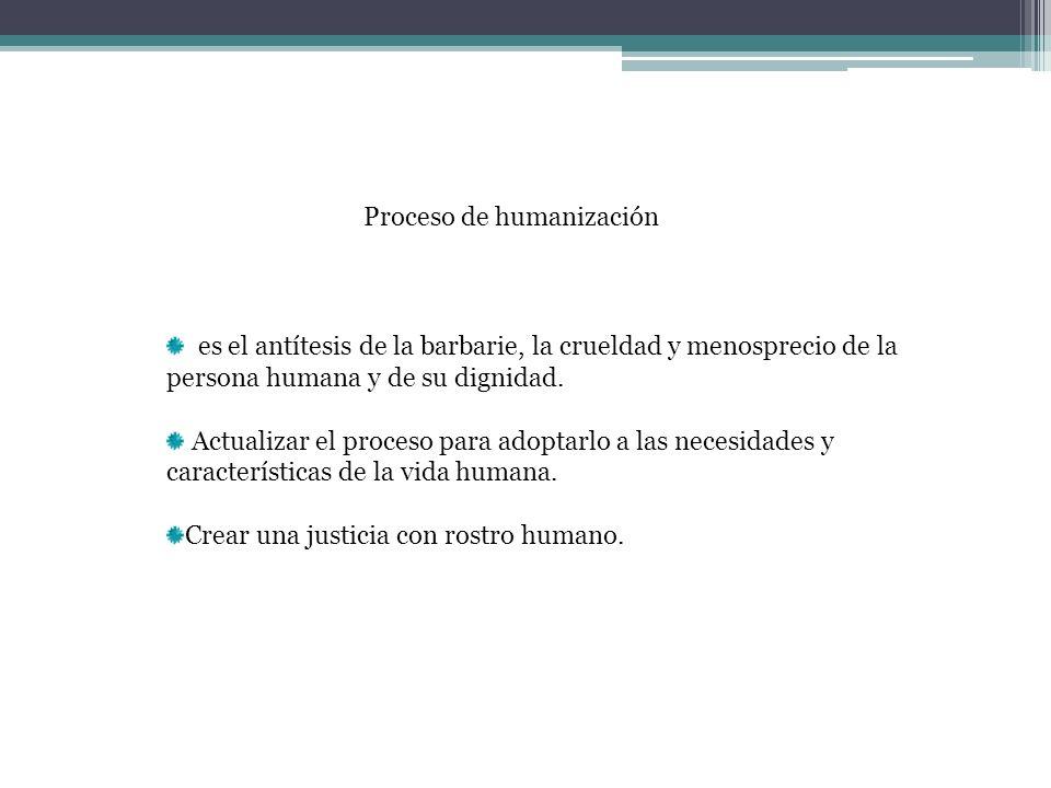 Proceso de humanización