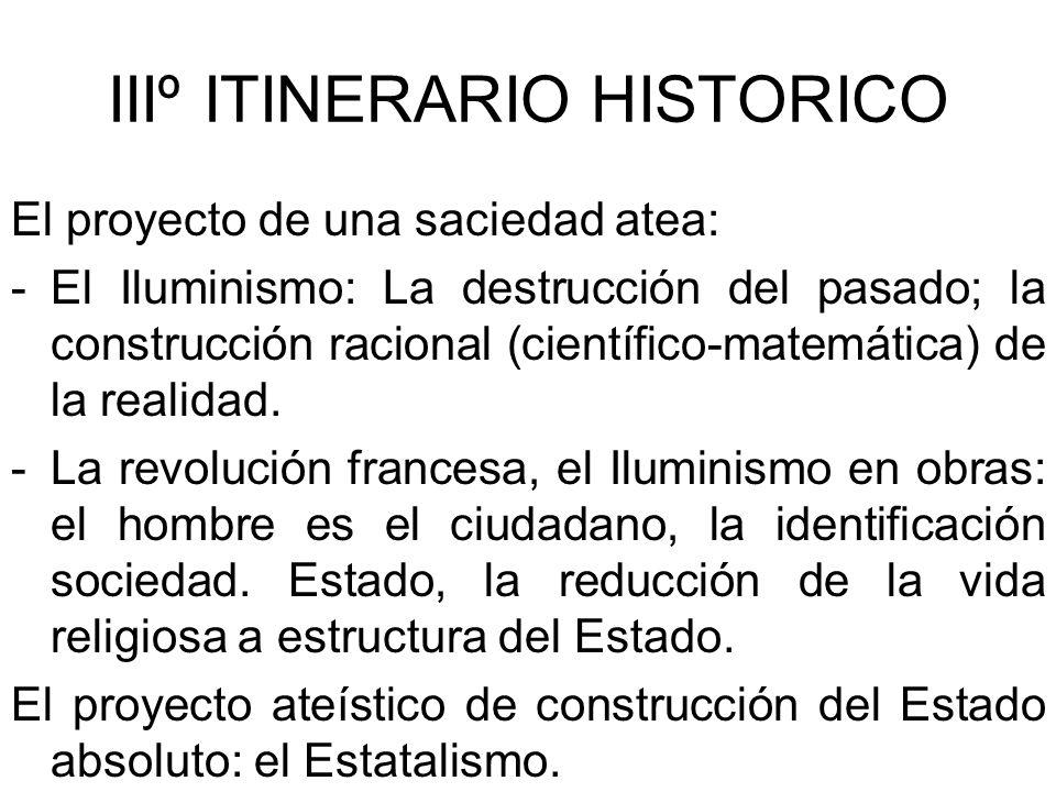 IIIº ITINERARIO HISTORICO