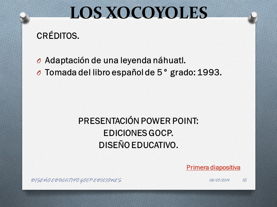PRESENTACIÓN POWER POINT: