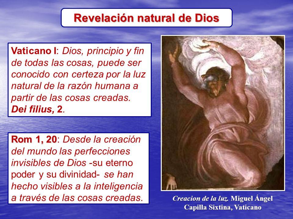 Revelación natural de Dios