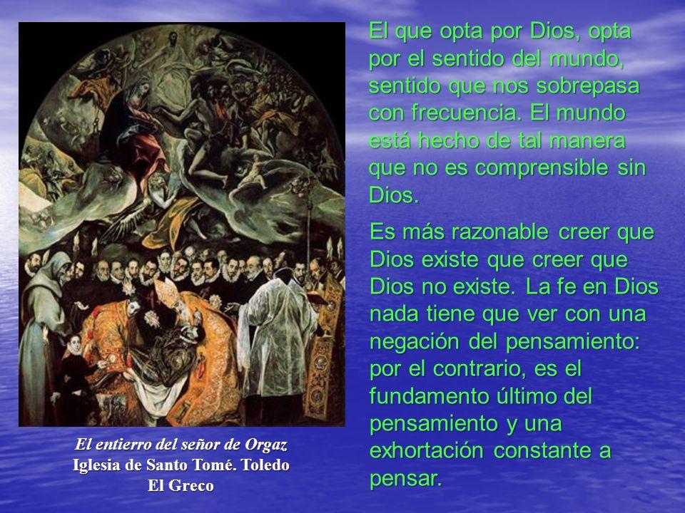 El entierro del señor de Orgaz Iglesia de Santo Tomé. Toledo