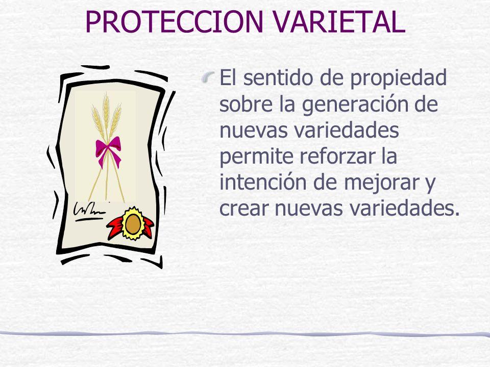PROTECCION VARIETAL
