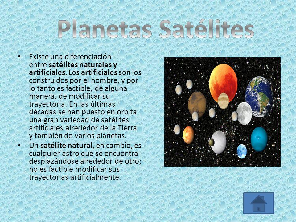 Planetas Satélites