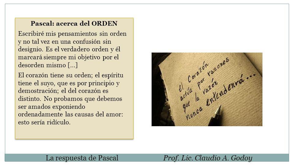 Pascal: acerca del ORDEN