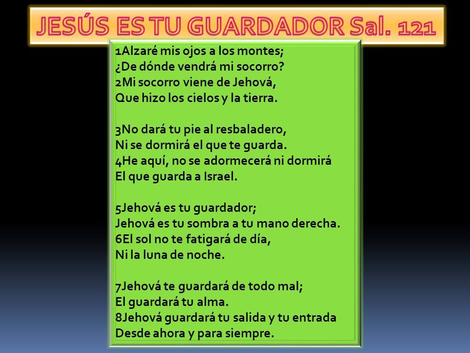 JESÚS ES TU GUARDADOR Sal. 121