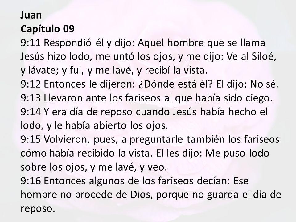 Juan Capítulo 09.