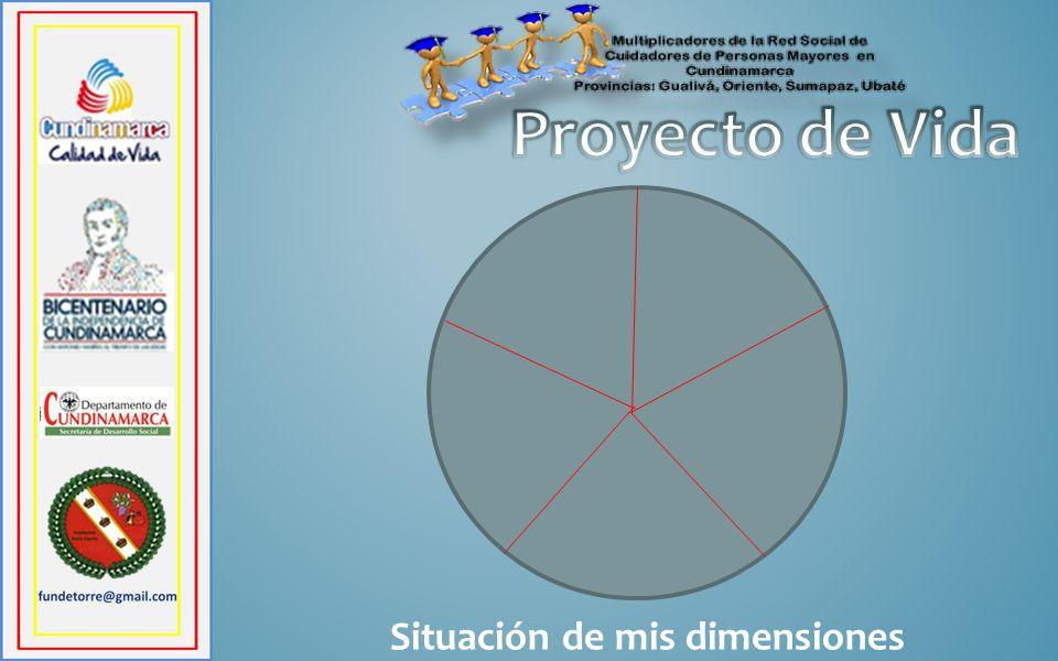 Proyecto de Vida Situación de mis dimensiones