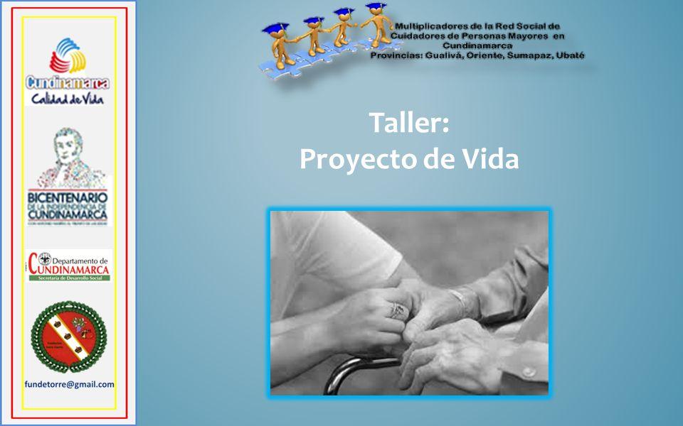 Taller: Proyecto de Vida