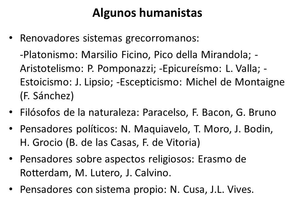 Algunos humanistas Renovadores sistemas grecorromanos: