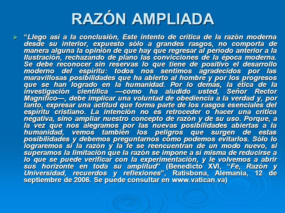 RAZÓN AMPLIADA