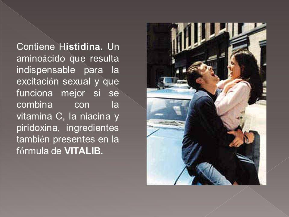 Contiene Histidina.