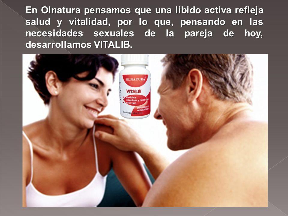 En Olnatura pensamos que una libido activa refleja salud y vitalidad, por lo que, pensando en las necesidades sexuales de la pareja de hoy, desarrollamos VITALIB.