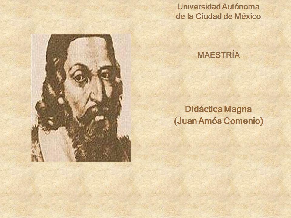 Didáctica Magna (Juan Amós Comenio)