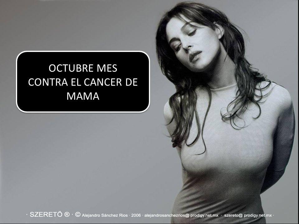 CONTRA EL CANCER DE MAMA