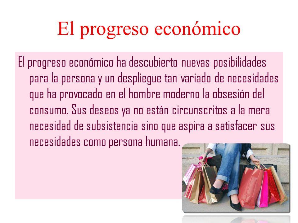 El progreso económico