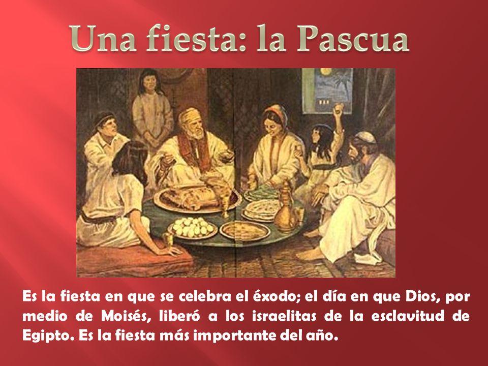 Una fiesta: la Pascua