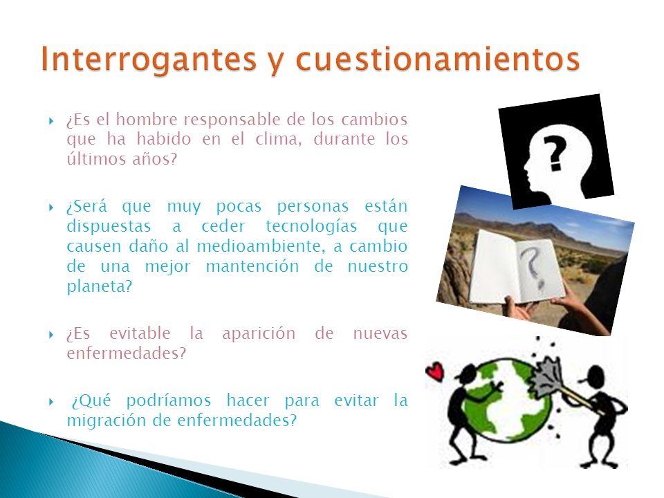 Interrogantes y cuestionamientos