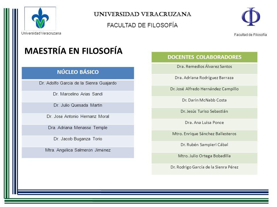 UNIVERSIDAD VERACRUZANA DOCENTES COLABORADORES
