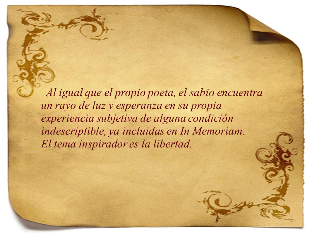 El tema inspirador es la libertad.