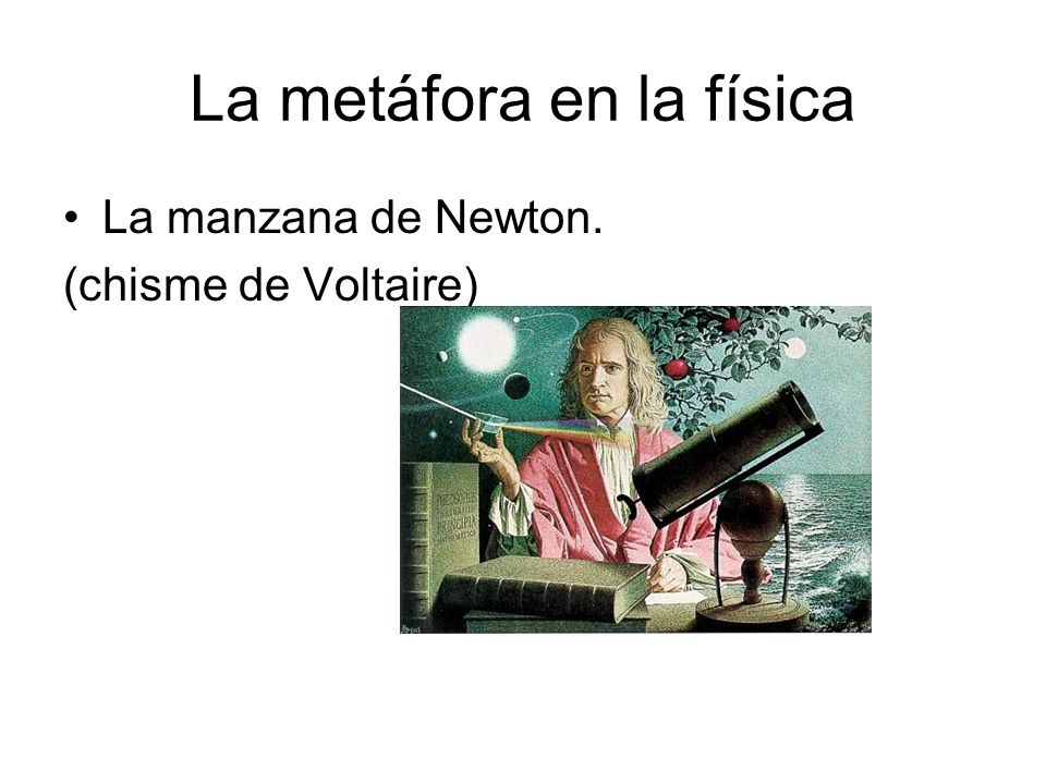 La metáfora en la física