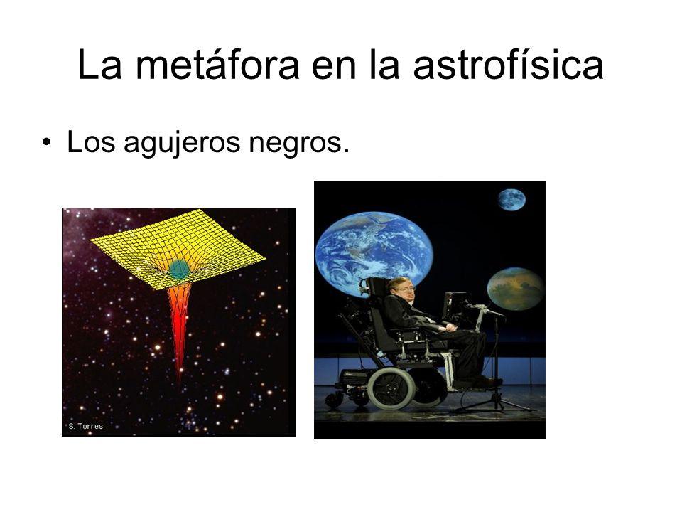 La metáfora en la astrofísica