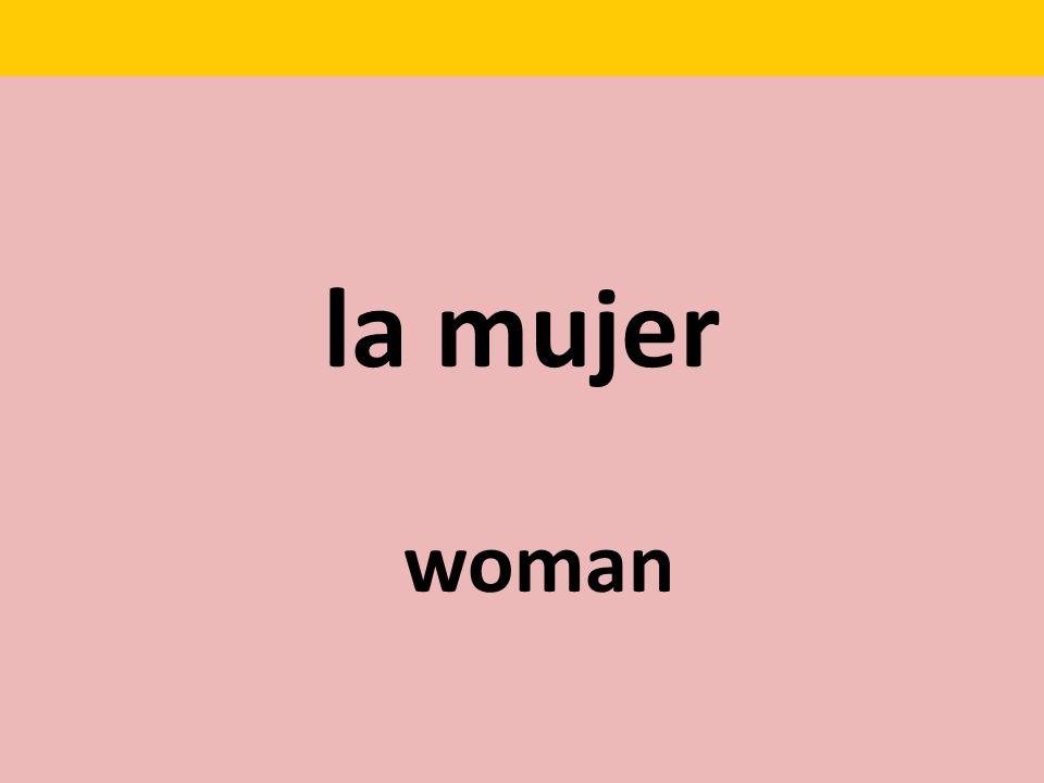 la mujer woman