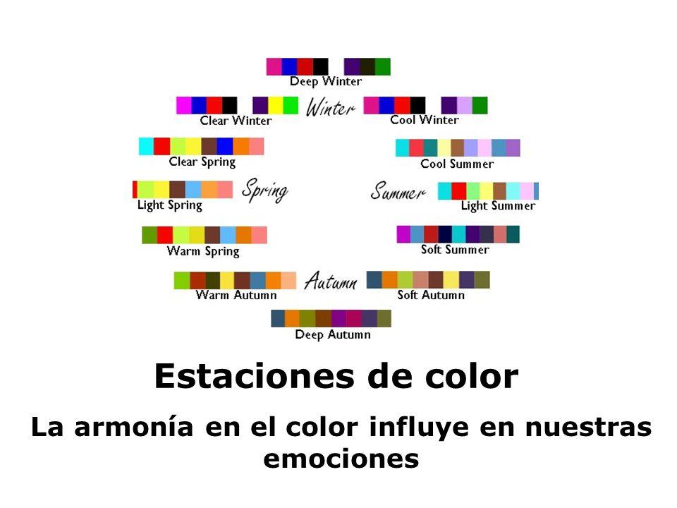 La armonía en el color influye en nuestras emociones