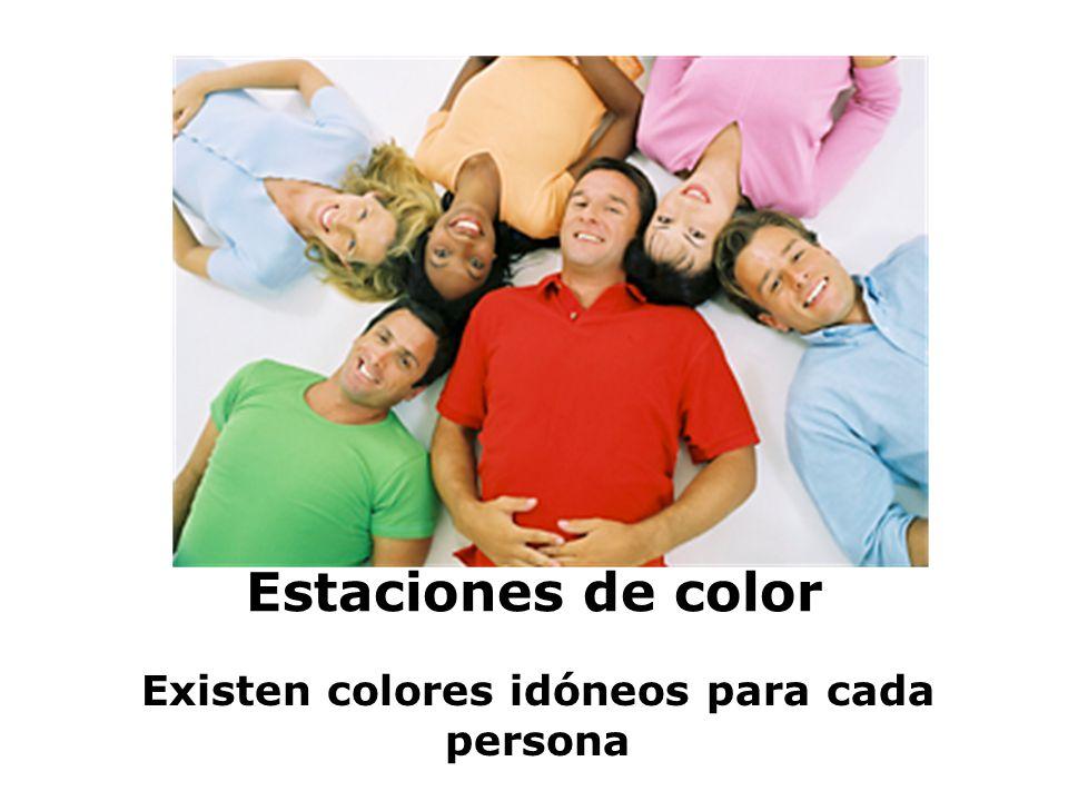 Existen colores idóneos para cada persona