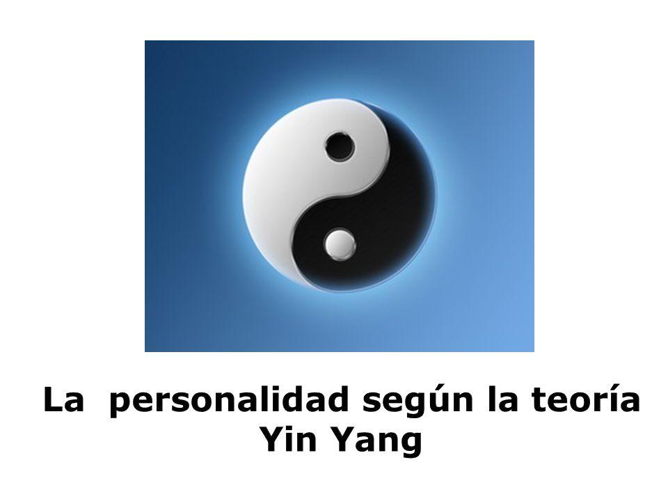 La personalidad según la teoría Yin Yang