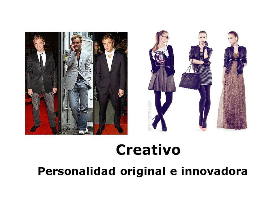 Personalidad original e innovadora