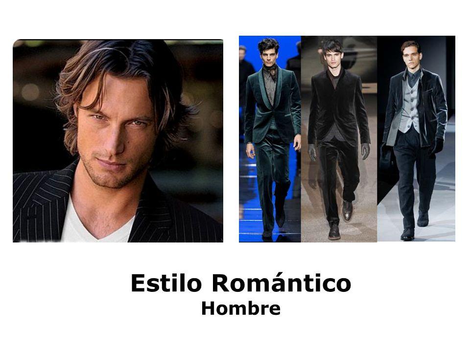 Estilo Romántico Hombre