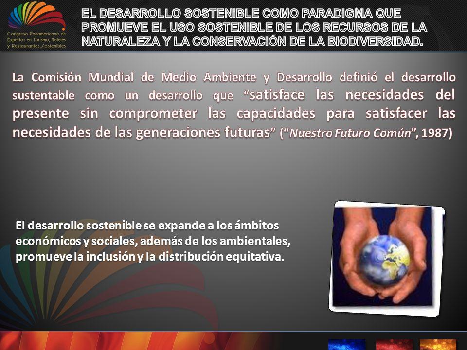 EL DESARROLLO SOSTENIBLE COMO PARADIGMA QUE PROMUEVE EL USO SOSTENIBLE DE LOS RECURSOS DE LA NATURALEZA Y LA CONSERVACIÓN DE LA BIODIVERSIDAD.