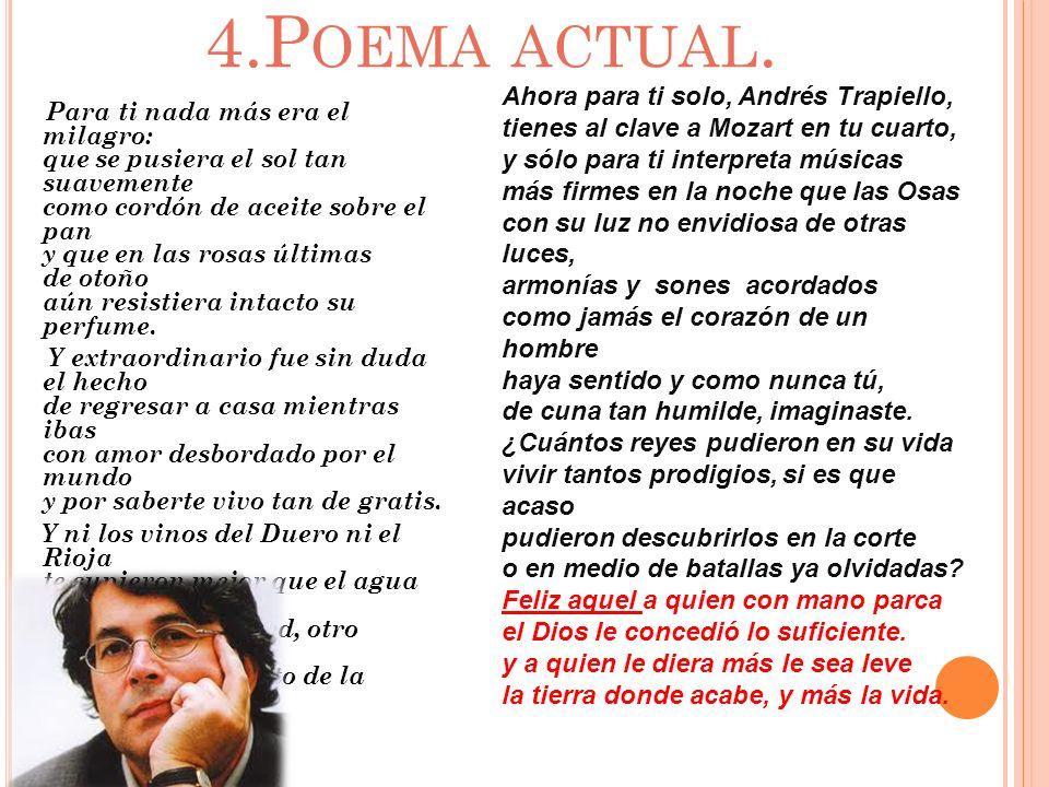 4.Poema actual.