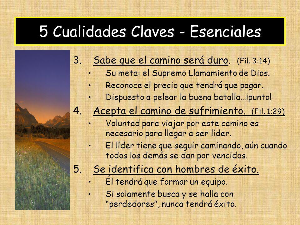 5 Cualidades Claves - Esenciales