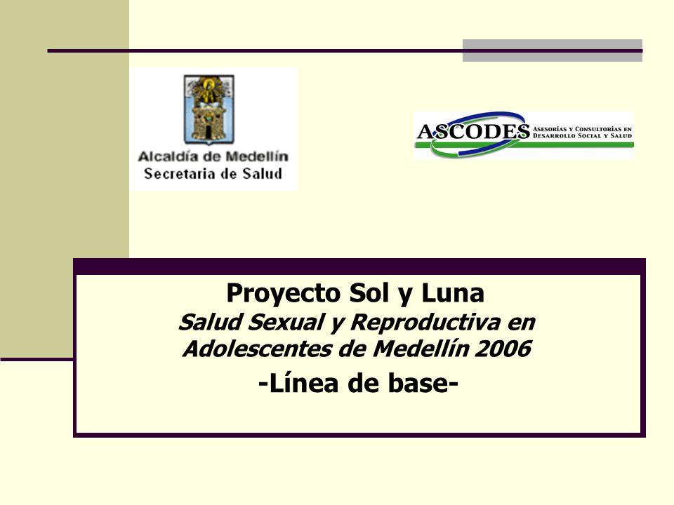 Salud Sexual y Reproductiva en Adolescentes de Medellín 2006