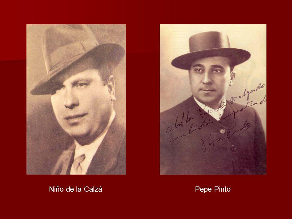 Niño de la Calzá Pepe Pinto