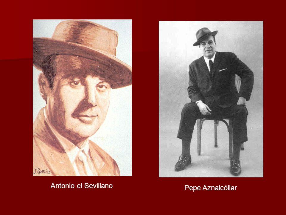 Antonio el Sevillano Pepe Aznalcóllar