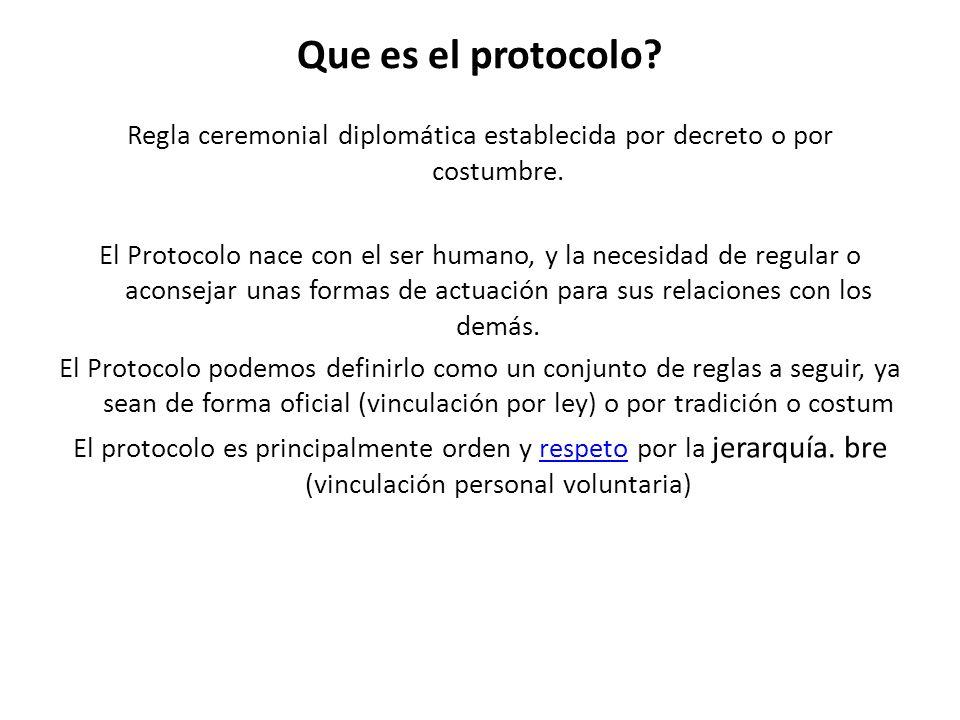 Que es el protocolo