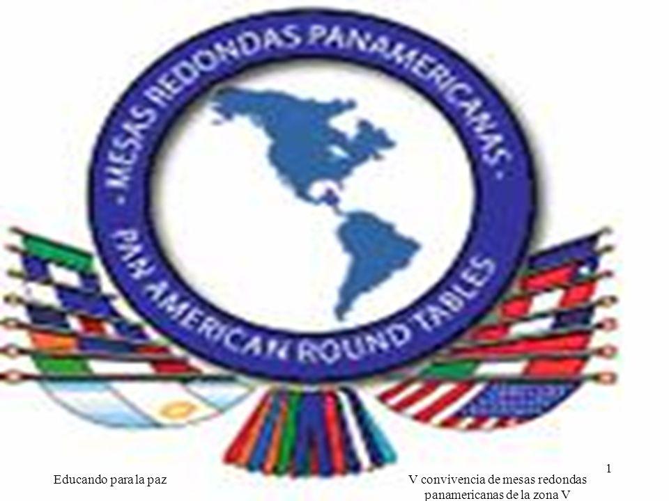 V convivencia de mesas redondas panamericanas de la zona V