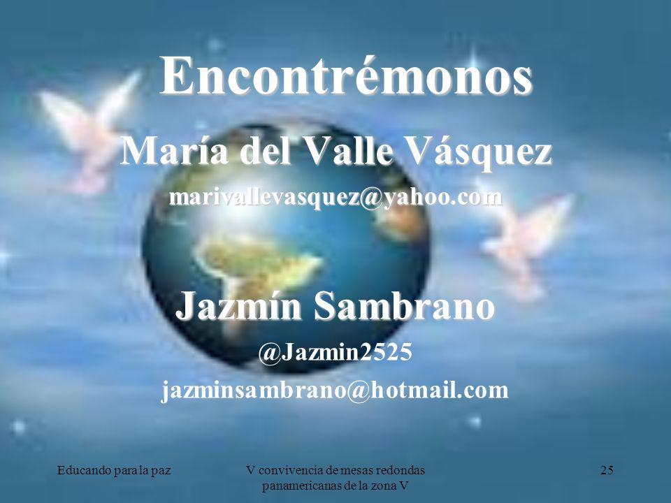 María del Valle Vásquez