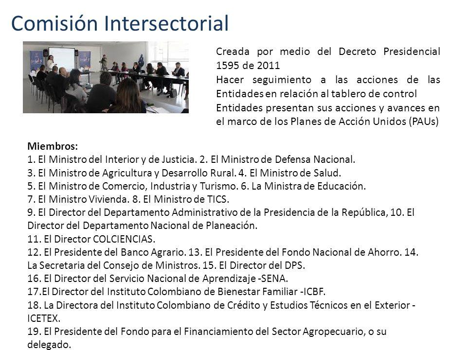 Comisión Intersectorial