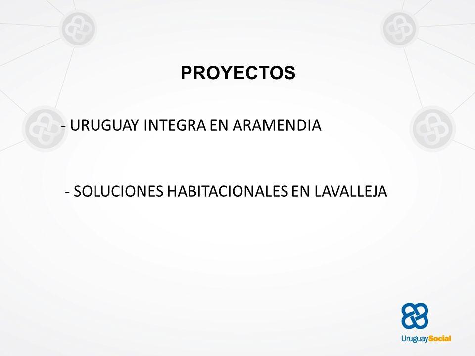 PROYECTOS - URUGUAY INTEGRA EN ARAMENDIA