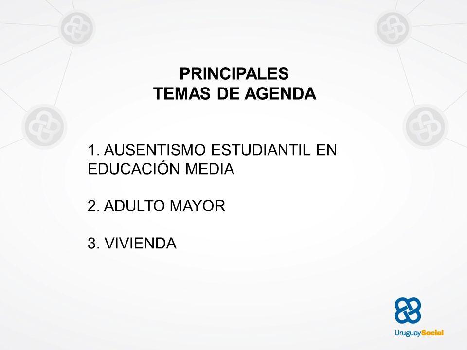 PRINCIPALES TEMAS DE AGENDA